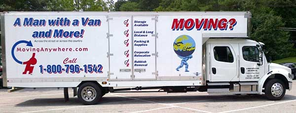 Picture of moving truck